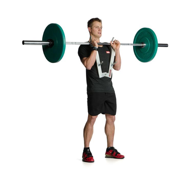 Front Squat Zercher Harness Iron Edge