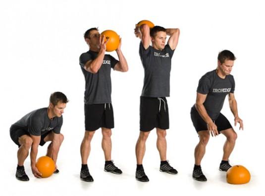 Medicine ball slams benefits