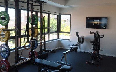 Mitch Johnson Home Gym