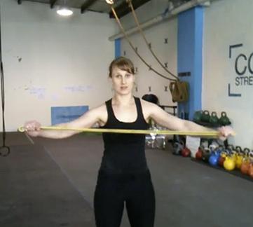 Basic Power Band Training
