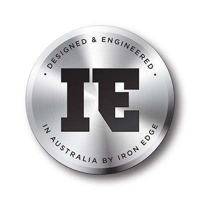 Iron Edge Engineered badge