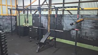 @revolutionsfs with the new Monkey Crossbeams #serioustraining #ironedge